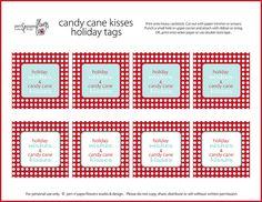 Free Printable Christmas Candy Tags~search valentine printable and teacher thank you printable