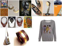 www.cewax.fr aime la mode et les bijoux en tissus africains, ethno tendance, tribal