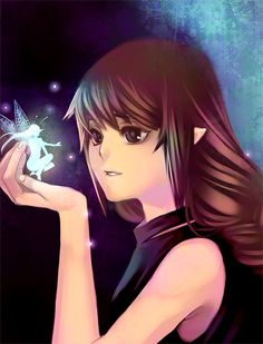 My little fairy by yaichino.deviantart.com on @DeviantArt