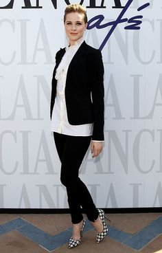 ab858e1a152 Evan Rachel Wood visits the Lancia Cafe during the 68th Venice Film... Plus  Size GirlsBlouses ...