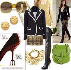 Devil Wears Prada-Anne Hathaway-2006 Fashion Pieces.