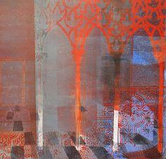 Artwork by and bio / CV of Deborah Gourlay, art, painting, print-making, photography, opera