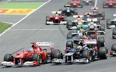 PASTOR MALDONADO WINS THE SPANISH GRAND PRIX   Alonso 2nd - FERRARI on the right track!!!