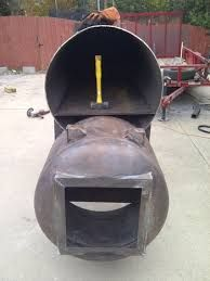 Image result for how to make smoker out of propane tank