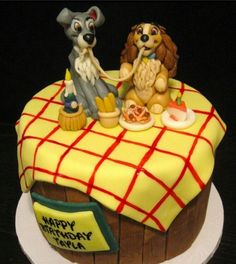 Disney Party Ideas:  Lady and the Tramp Party