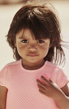 IKKS Summer Wear: Pink Baby Dress