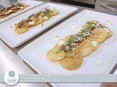 Clase del 5º Cuatrimestre, Cocina de Banquetes, alumnos del ICD, chef Slawomir Korczak