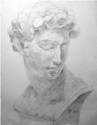 石膏デッサン-メディチの鉛筆デッサン制作過程6 Art Basics, Charcoal Portraits, Daily Drawing, Character Design Inspiration, Map Art, Art Tips, Art Inspo, Sketches, Sculpture
