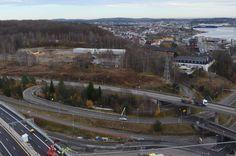Nesten umulig: Bane Nor mener det er bortimot umulig å klare å etablere jernbanestasjon på Bergeløkka.