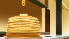 Read ✨Anime food✨ from the story Zodiaco Otaku© by -shiina- (. Otaku Anime, Anime Art, Aesthetic Gif, Aesthetic Food, Bento Anime, Main Manga, Blueberry Ricotta Pancakes, Keto Pancakes, Food Kawaii