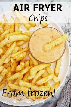 Most Popular Recipes, Great Recipes, Vegan Recipes, Favorite Recipes, Amazing Recipes, Air Fryer Chips, Yummy Food, Good Food, Air Frier Recipes
