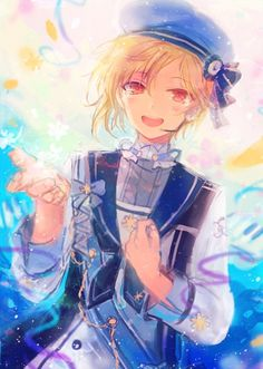 Sad And Lonely, Rainbow Light, Face Expressions, Cute Chibi, Ensemble Stars, In My Feelings, Vocaloid, Anime Guys, Anime Art
