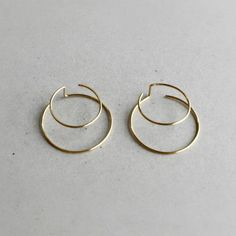 Earrings Idea | Gold Hoops