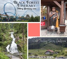 Black Forest Itinerary - Triberg, Germany - World Traveling Military Family