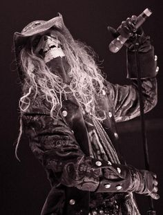   Rob Zombie performed at The Pearl at The Palms on October 30, 2009