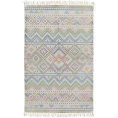 Surya Chaska Multicolor Rectangular: 8 Ft X 10 Ft Rug 810 Eclectic Area Rug, Cotton Area Rug, Surya Rugs, Rugs, Colorful Rugs, Transitional Area Rugs, Area Rugs, Indoor Area Rugs, Geometric Rug