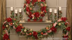 Deck your halls with warmth and elegance by creating dazzling Christmas garland!