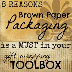 TIP Tuesday {Packaging}: Brown Paper Inspiration