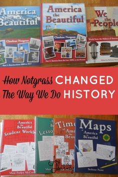 We began America the Beautiful from Notgrass this school year. I can safely say that Notgrass changed the way we do History. Homeschool Curriculum Reviews, Curriculum Planning, Homeschooling Resources, Lesson Planning, History Lesson Plans, Social Studies Resources, History For Kids, Teaching History, History Education
