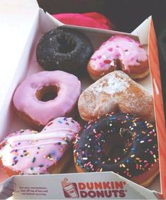 fact: i eat doughnuts from dunkin donuts every wednesday morning. it's kinda a tradition, hard to explain.