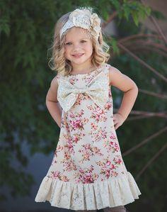 Persnickety Pocket Full of Posies Henrietta Dress PREORDER