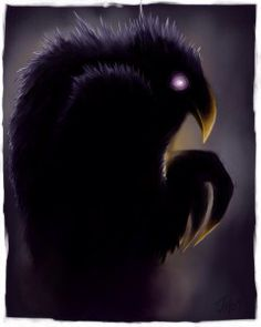 Raven mocker- Native American myth: an evil being that robs the old, sick, and dying of their lives. It usually appears as an old withered man that take to the air in a fiery shape with the cry of crow