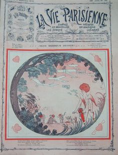 Markous. La Vie Parisienne, 3 Septembre 1910. [Pinned 14-vii-2015]