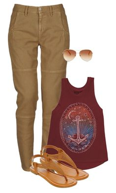 """""""Untitled #1153"""" by musicfasionbooks ❤ liked on Polyvore featuring Massimo Alba, Billabong, A.N.A and Tommy Hilfiger"""