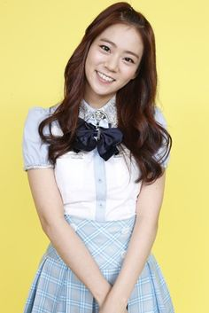 Seungyeon KARA Bye Bye Happy Days Blue and White