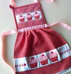 Oven Mitt Dish Towel Dress