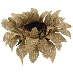 "28"" Natural Burlap Sunflower | Shop Hobby Lobby"