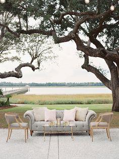 Michelle & John's fall wedding at Lowndes Grove Plantation in Charleston, SC   Photo by Landon Jacob
