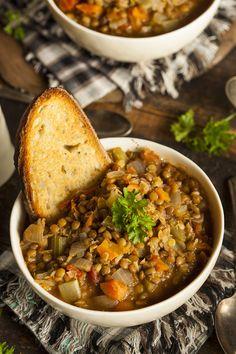 Italian Lentil Soup {Zuppa di Lenticchie}
