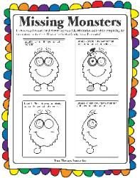Symmetrical Missing Monsters
