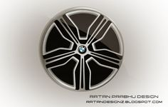 RATANDESIGNZ: BMW Concept wheel Design sketch