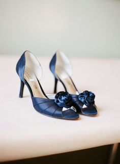 Blue peep toes. Photography by miguel-varona.com, Shoes by modissa.ch