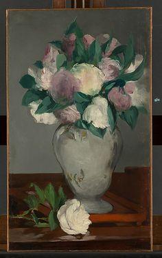 Édouard Manet   Peonies by Édouard Manet (French, Paris 1832–1883 Paris)