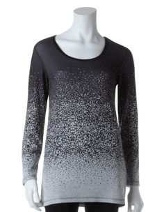 Cleo | Scattered Dot Pullover Top #CleoFashion #LuxeLounge  www.cleo.ca