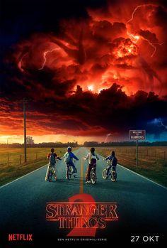 "Stranger Things: Seizoen 2 Comic Con ""Thriller"" Trailer via @denachtvlinders"