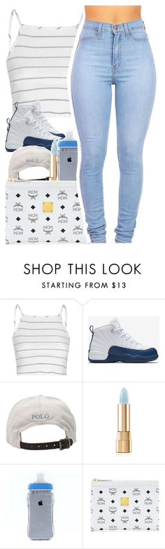"""April 13, 2016"" by uniquee-beauty ❤ liked on Polyvore featuring Glamorous, NIKE, Polo Ralph Lauren, Dolce&Gabbana and MCM"