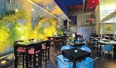 Resultado de imagem para restaurantes em concreto