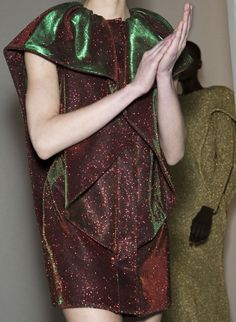 Amaya Arzuaga Fall 2014 Backstage