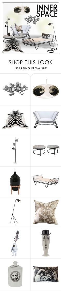 """""""the martian..."""" by ian-giw ❤ liked on Polyvore featuring interior, interiors, interior design, home, home decor, interior decorating, Ren-Wil, Paola C., Manuel Canovas and Fornasetti"""
