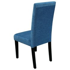 Blue Upholstered Dining Chairs - Home Furniture Design