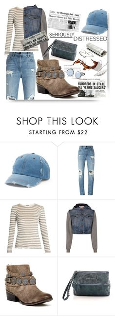 """""""Seriously Distressed"""" by queenofsienna ❤ liked on Polyvore featuring Mudd, Alexander Wang, ATM by Anthony Thomas Melillo, Moschino, Naughty Monkey, Givenchy, Skagen and distressed"""