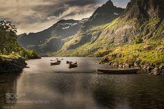 Å i Lofoten Norway by prlien via http://ift.tt/29xqzq6