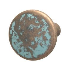 Hafele 123.27.032 Traditional Zinc Knob, Rustic Copper - Knobs and Hardware
