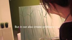 Paint a forest (I just ignored the words in the video lol)