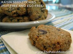 I have greatly enjoyed the challenge of creating more nut-free paleo baking recipes for those of you with nut allergies in your home (and for when my mother-in-law comes to visit too).  These cookies also happen to be egg-free for those of you who also need more egg-free baking recipes (it just happened worked out …