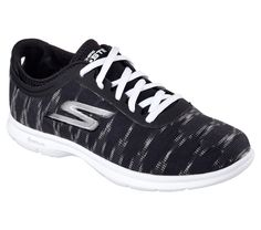 Women's Skechers GO STEP Ikat Sneaker Shoe Black/ White Brand New in Clothing, Shoes & Accessories, Women's Shoes, Athletic White Casual Shoes, Black Shoes, On Shoes, Shoes Sneakers, White Brand, Skechers, Athletic Shoes, Footwear, Ikat